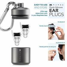 MUMBA Concert Sleep Earplugs 24dB Ear Hearing Protection Ear Plugs Noise Reducer