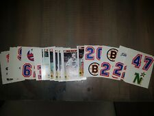 1987 TOPPS NHL HOCKEY WAX PACK STICKER INSERT  BUY 5 CARDS FREE SHIP