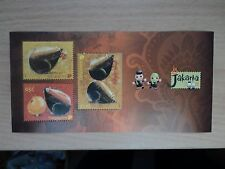Singapore 2008 Chinese New Year of Rat. Miniature Sheet. Jakarta 2008 overprint