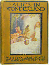 ALICE IN WONDERLAND Alice's MARGARET TARRANT Adventures Fairy Tale LEWIS CARROLL