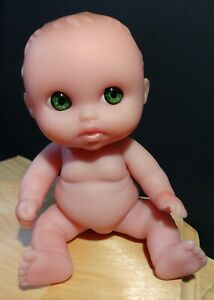 """Berenguer 5 1/2"""" Vinyl Baby Doll- Lots To Love- Green Eyes, Very Detailed"""