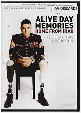 ALIVE DAY MEMORIES HOME FROM IRAQ (DVD, 2013)