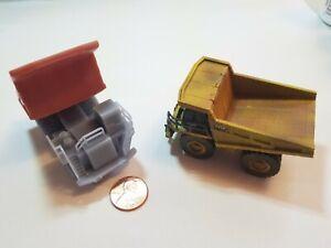 N scale Mega size Cat Mining dump truck equipment 1:160 railroad unpainted READ