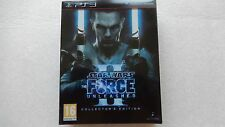 Star Wars The Force Unleashed II 2 PS3 Collector's Edition for PlayStation 3 NEW