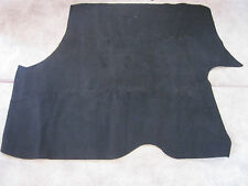 1978-1987 grand prix  black carpet trunk mat with jute