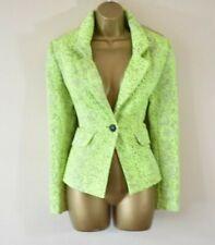 NEW VIVIENNE WESTWOOD TROT 42 Neon Textured Jacquard Blazer ASO Nicki Minaj