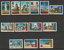 More details for barbados 1972-74 complete set sg 455-467 fine used.