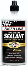 Finish Line 8oz Tubeless Bicycle Tire Sealant Bottle Lasts Life of Tire 240ml