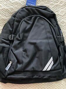 Unicol Bag BACKCARE Rucksack School Backpack - Black