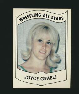 1982 PWE Wrestling All Stars Series B #34 Joyce Grable Dallas Texas (PEO)