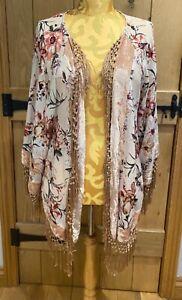 River Island Summer Jacket Shawl Size L