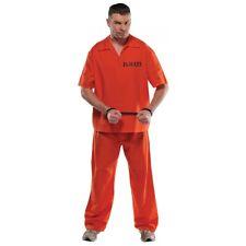 Inmate Costume Halloween Fancy Dress