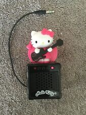 Hello Kitty On Top Of Amplifier With Head Phone Jack