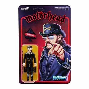 "SUPER7 Motorhead Lemmy Modern Cowboy ReAction Figure 3.75"" NEW"