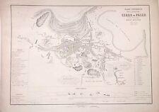 PERÚ,Cerro de Pisco.Paz Soldán.Geografía del Perú 1865.