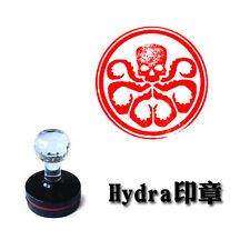 Agents of Shield S.H.I.E.L.D. Hydra Badge Stamp Photosensitive Seal