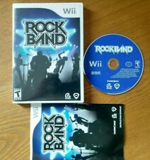 Rock Band (Nintendo Wii, 2008) Game Only