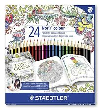 24 STAEDTLER NORIS colore 185c24jb / Adulto MATITE COLORATE / Johanna BASFORD / wopex