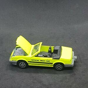 Majorette 200 Series (Serie) #227 Ford Mustang Convertible Die-Cast Vehicle 1980