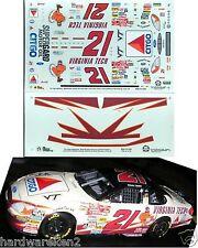 NASCAR DECAL #21 VIRGINIA TECH CITGO SUPERGARD 2000 FORD TAURUS ELLOIT SADLER