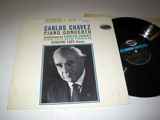 EUGENE LIST Carlos Chavez: Piano Concerto WESTMINSTER Stereo VG+++/NM-