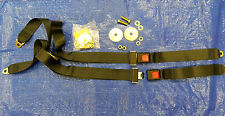 NEW JEEP CJ & YJ REAR SEAT BELTS 1976-1991. SOLD IN PAIRS (2) WITH HARDWARE KIT