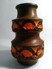 WEST GERMAN POTTERY SCHEURICH LAVA VASE 267/20