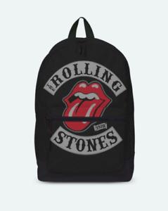 Rolling Stones 1978 Tour Tongue  ROCKSAX RUCKSACK / BACKPACK SKATE BAG - NEW