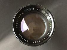SOLIGOR Tele auto lens 3.5 200mm with rear cap KONICA fit