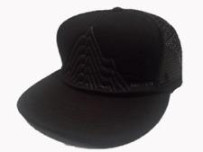 Burton Snowboarding New Dawn Fades Black Mesh Back Snap Back Trucker Cap Hat