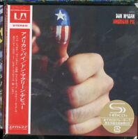 DON MCLEAN-AMERICAN PIE-JAPAN MINI LP SHM-CD Ltd/Ed G00