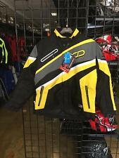Choko Razer Mens Nylon Snowmobile Jacket Yellow XL