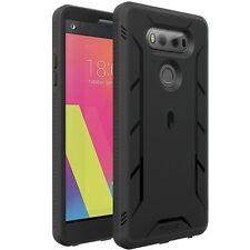 LG V20 Case,Poetic Heavy Duty Shockproof Cover Black