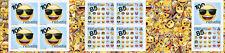Switzerland 2017 MNH Emoji Emojis 10v S/A Booklet Stamps