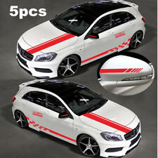 5x Hood Stripe Auto Graphic Decal Vinyl Car Truck Body Racing Stripe Decoration