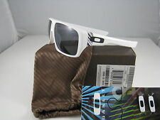 Rare New Oakley Dispatch Matte White w/Grey OO9090-03 Hard to find !!!