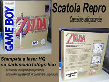 THE LEGEND OF ZELDA * ITALIANA * Game Boy * Riproduzione Box Scatola * Gameboy *