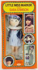 Ideal Little Miss Marker starring Sara Stimson Doll 1980 No. 1382-1 NRFB