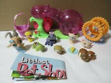 LOT LITTLEST PET SHOP HAMSTER MICE EASTER BASKET RABBIT CHICK SPIDER ACCESSORIES