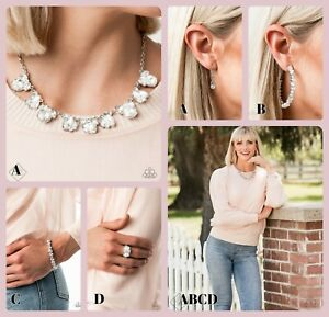 Paparazzi Jewelry ~BLING to Attention~ Fiercely 5th Avenue Fashion Fix Set Sept