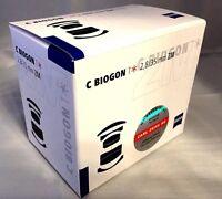 New Carl ZEISS C Biogon T * 35mm f2.8 ZM Mount Lens - BLACK Made in Japan
