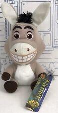 "New Shrek Donkey Big Head Dreamworks Plush Toy FACTORY Stuffed Animal Doll 7"" NW"