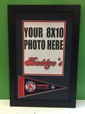 Boston Red Sox Custom Picture Frame W/ Pennant