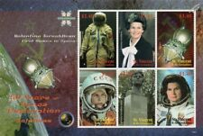 VALENTINA TERESHKOVA First Woman in Space/Cosmonaut Stamp Sheet 2008 St Vincent