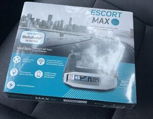 NEW Escort MAX 360c Laser Radar Detector WiFi Bluetooth 360° Extreme Range OLED