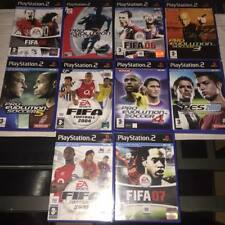 FIFA  2004 2005 06 07 08 pro EVOLUTION SOCCER 3 4 5 2008 10 GAME Ps2 BUNDLE