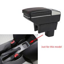 Car Interior Armrest Storage Box Storage Bag Rotatable For SUZUKI Swift 2005-14