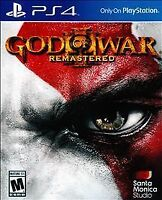PS4 God of War III: Remastered Brand New Factory Sealed Playstation 4