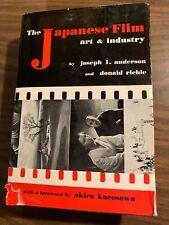 The Japanese Film & Art Industry 1959 First Edition Joseph Anderson