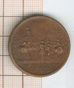 By Dassier Geneve Medal Token Paul Emile Triumph Of Perseus